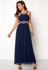 Chiara Forthi Matia Embellished Dress Dark blue / Silver Bubbleroom.fi