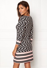 Chiara Forthi Maura Dress Black / White / Pink