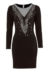 Chiara Forthi Montella dress Black / Silver