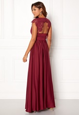Chiara Forthi Princess Gown Bordeaux