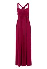 Chiara Forthi Rochelle Maxi Dress Pink Bubbleroom.se