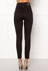 Chiara Forthi Sky-High Megastretch Ankle Jeans Black / Gold Bubbleroom.se