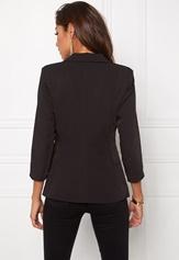 Chiara Forthi Tailored Blazer Black / Gold