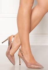 Menbur Clara Shoe Dark Nude Bubbleroom.se