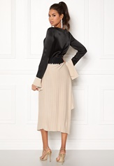 DAGMAR Nia Dress Beige/Black