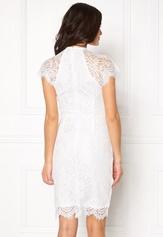 Girl In Mind Francis Lace Dress White