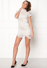 Girl In Mind Lace Dress White