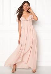 Girl In Mind Maxi Flow Dress Light Pink Bubbleroom.se