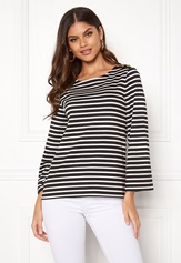 Happy Holly Alex top Black / Offwhite Bubbleroom.se