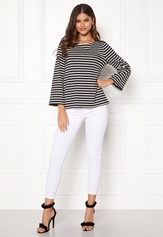 Happy Holly Alex top Black / Offwhite