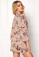 Happy Holly Charlene dress Pink / Patterned