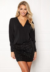Happy Holly Colette dress Black Bubbleroom.fi