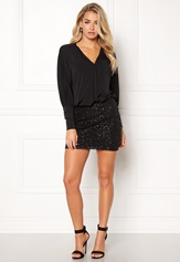 Happy Holly Colette dress Black
