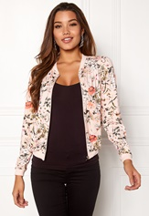 Happy Holly Hanna jacket Pink / Patterned Bubbleroom.se