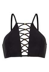 Happy Holly Kendall bikini bra Black Bubbleroom.se