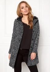 Happy Holly Teresia coat Black