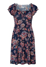 Happy Holly Tessan dress Blue / Patterned