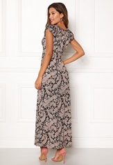 Happy Holly Tessie maxi dress Black / Patterned