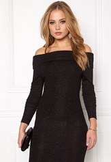 Jacqueline de Yong Jenn Off Shoulder Black Bubbleroom.se
