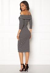 Jacqueline de Yong Kenya 3/4 Dress Black
