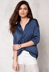 Make Way Arden Shirt Blue Bubbleroom.se