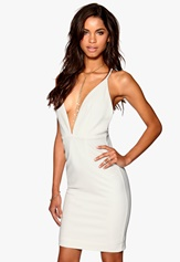 Make Way Ines Dress White Bubbleroom.se