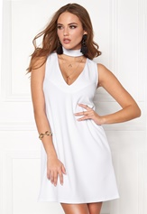 Make Way Lynn Dress White