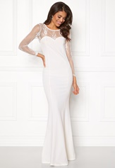 Make Way Melody Dress White