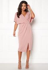 Make Way Selena dress Dusty pink Bubbleroom.se