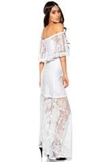 Make Way Harlow Dress White