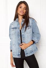 New Look Chezza Oversize Jacket Wedgewood Bubbleroom.se