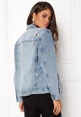 New Look Chezza Oversize Jacket Wedgewood