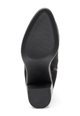 New Look Doodle Side Zip boots Black