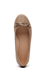 New Look Joupey Chain Ballerina Light Brown