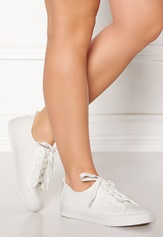 New Look Moguel PU Lace Up White Bubbleroom.se