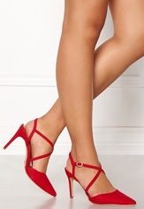 New Look Rexy 2 Strappy Sandal Red Bubbleroom.dk