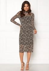 OBJECT Mariann L/S Long Dress Black Bubbleroom.fi