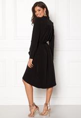 OBJECT Nell L/S Long Dress Black