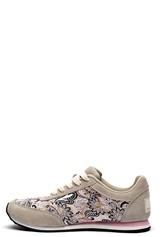 Odd Molly Lace Up Trainer Light Porcelain