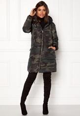 ONLY Edina Long Nylon Coat Moonless Night