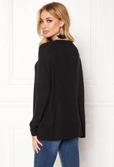 ONLY Kleo L/S Plain Pullover Black