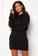 ONLY Mynte L/S Sweat Dress Black Bubbleroom.se