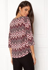 ONLY Nova Lux 3/4 Sleeve Top Rose Dawn