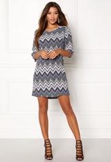 ONLY Nova Lux Tee 3/4 Dress Black