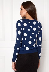 ONLY Pingu L/S Pullover Knit Night Sky