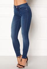 ONLY Royal Skinny Jeans Medium Blue Denim Bubbleroom.dk