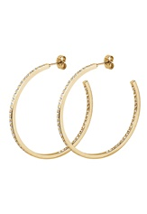Dyrberg/Kern Quinnie Crystal Earrings Gold Bubbleroom.dk