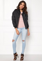 Rut & Circle Kate Front Zip Jacket Black