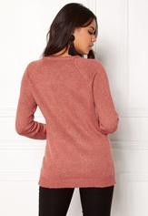 Rut & Circle Sofi Lace Up Knit Canyon Pink