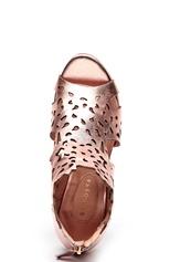 SARGOSSA Shades Nappa Leather Heels Rose Gold